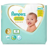 Pampers New Baby Nappies Size 3 Carry Pack