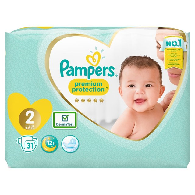 Pampers New Baby Nappies Size 2 Carry Pack