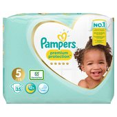 Pampers Premium Protection New Baby Nappies Size 5 Essential Pack