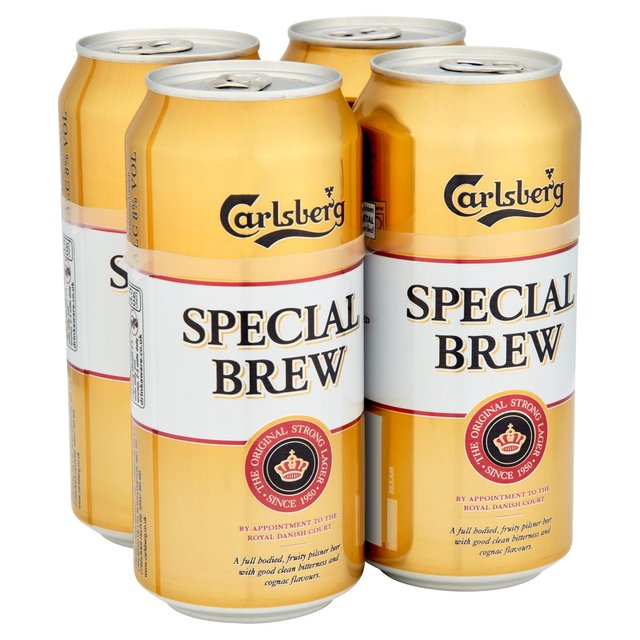 Carlsberg Special Brew Lager Cans