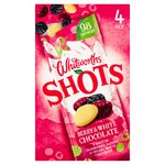 Whitworths Berry & White Chocolate Shots 4X25G