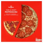 Morrisons Pepperoni Thin & Crispy Pizza