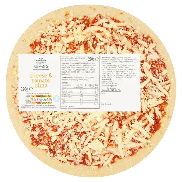 Morrisons Savers Cheese & Tomato Pizza