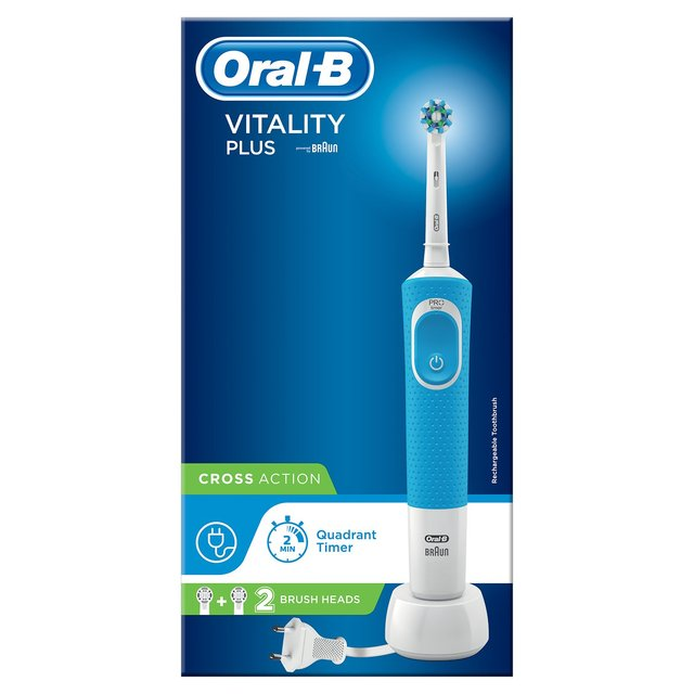 Oral B Power Handle Vitality Plus Cross Action Pro