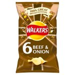 Walkers Beef & Onion Crisps