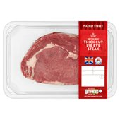 Morrisons British Rib Eye Thick Cut