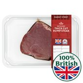 British Rump Steak Thick Cut