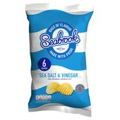 Seabrook Salt & Vinegar Crisps 6 Pack