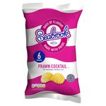 Seabrooks Prawn Cocktail Crisps 6 Pack