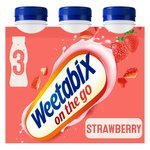 Weetabix On the Go Breakfast Drink Strawberry Multipack