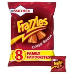 Smiths Frazzles Crispy Bacon Snacks 8x18g
