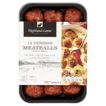 Highland Game Italian Style Venison Meatballs 12 Pack