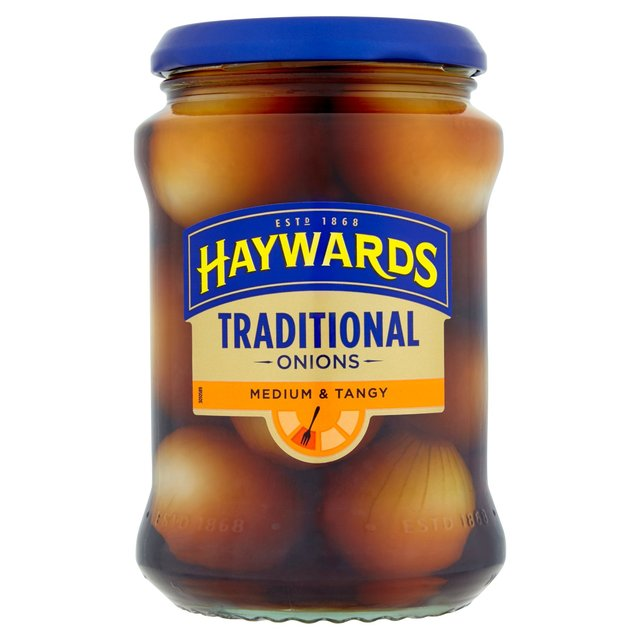 Haywards Medium & Tangy Traditional Onions (400g)