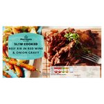Morrisons Slow Cook Red Wine & Onion Gravy Beef Short Rib