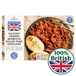 Morrisons Hickory Smoked Pulled Pork With BBQ Sauce