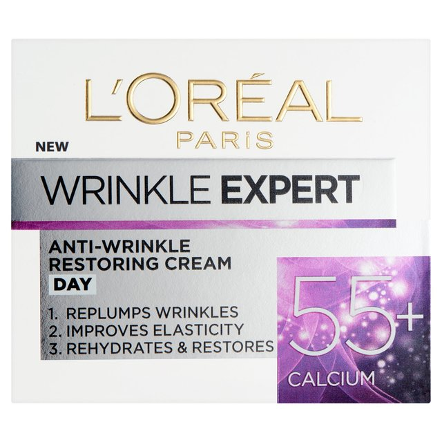 Morrisons: L'Oreal Paris Anti-Wrinkle Expert Cream 55+ 50ml ...