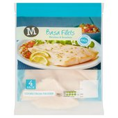 Morrisons 4 Basa Fillets
