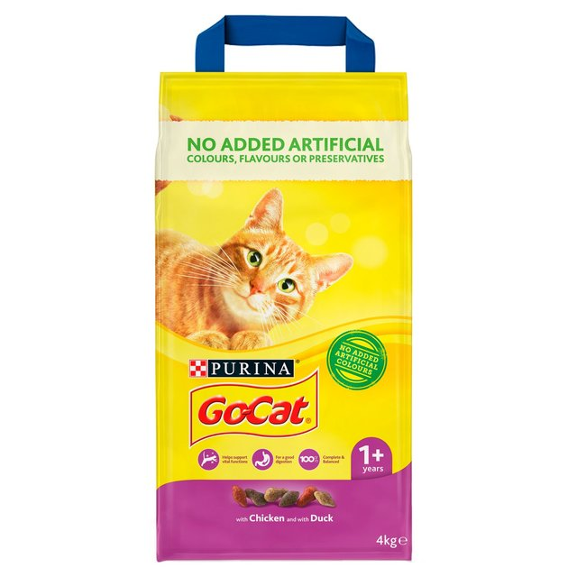 Go-Cat Adult Cat Food Chicken and Duck