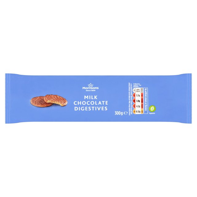 Morrisons Milk Chocolate Digestives
