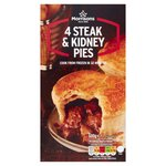 Morrisons 4 Steak & Kidney Pies
