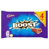 Cadbury Boost Chocolate Bar 4 Pack