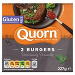 Quorn Foods Gluten Free Quarter Pounder Burgers