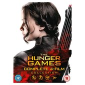 The Hunger Games Complete Collection DVD (12)