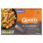 Quorn Gluten Free Sausages 6 Pack
