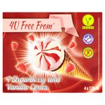 4U Free From Strawberry + Vanilla Cones