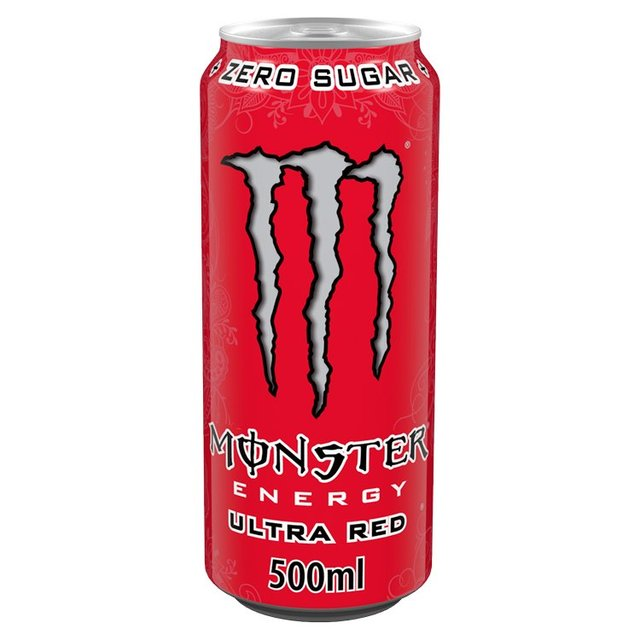 monster energy ultra red zero calorie 48 dosen je 500 ml 59 98 ebay. Black Bedroom Furniture Sets. Home Design Ideas