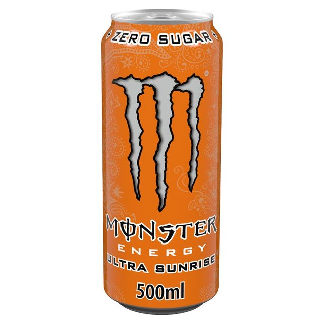 Monster Ultra Sunrise Soft Drink