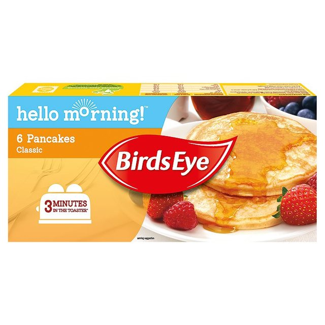 Morrisons: Birds Eye Classic Pancakes 240g(Product Information)