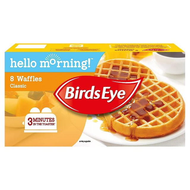Morrisons: Birds Eye Classic Waffles 240g(Product Information)