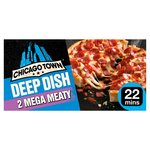 Chicago Town Deep Dish Mega Meaty Pizza 2 Pack