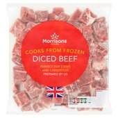 Morrisons Diced Beef
