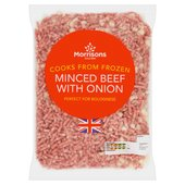 Morrisons Minced Beef & Onion