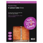 We Love Cake Gluten Free Lemon Cake Slice