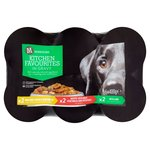 Morrisons Dog Kitchen Favourites Chunks In Gravy