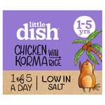 Little Dish Mild Chicken Korma Toddler Meal
