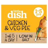 Little Dish Chicken & Veg Pie Toddler Meal