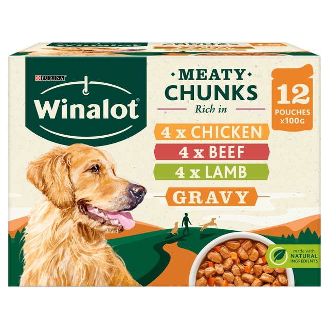 Winalot Perfect Portions Meat in Gravy