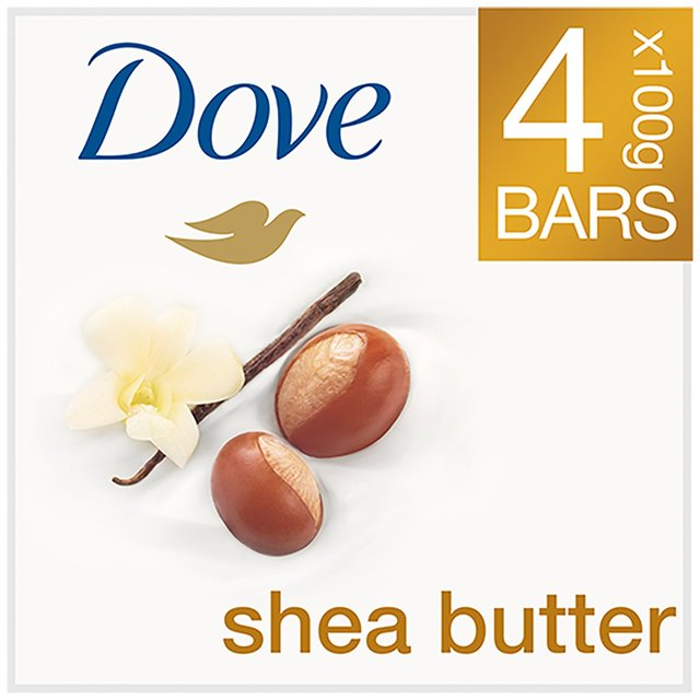 Morrisons: Dove Purely Pampering Shea Butter Soap 4 X 100