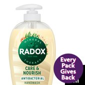 Radox Care + Nourish Antibacterial Hand Wash