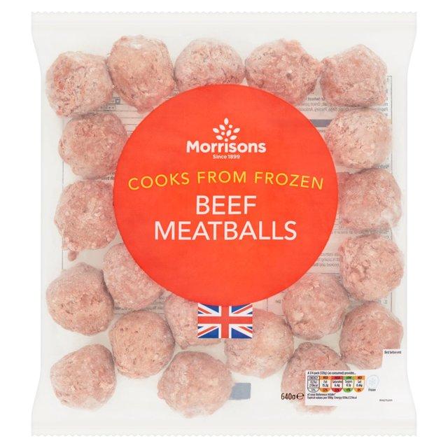 Morrisons Beef Meatballs