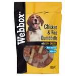 Webbox Chicken & Rice Dumb Bells