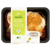 Morrisons Vegetarian Moussaka
