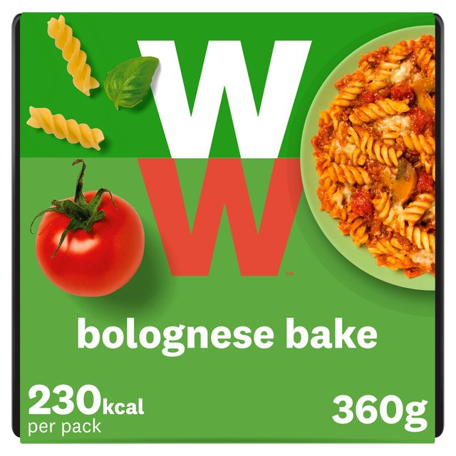 Weight Watchers Bolognese Al Forno
