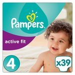 Pampers Premium Protection Active Fit Nappies Size 4 Maxi