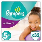 Pampers Premium Protection Active Fit Size 5+ Junior Plus