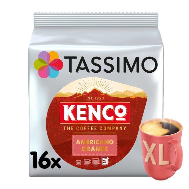 Tassimo Kenco Americano Grande XL Coffee Pods 16's